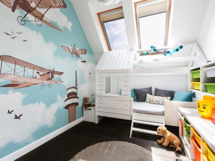 fotograf krakow fotografia wnętrz fotografia architektury homestage wnętrza kraków pokój chłopca
